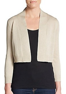 Calvin Klein Metallic-Detailed Shrug
