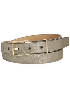 Calvin Klein Metallic Exotic Embossed Belt