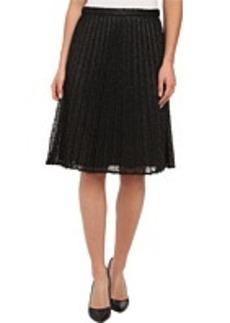 Calvin Klein Metallic Lace Skirt