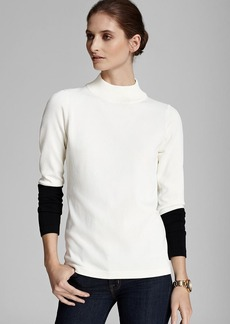 Calvin Klein Mock Neck Sweater