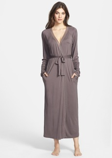 Calvin Klein Modal & Mesh Long Robe