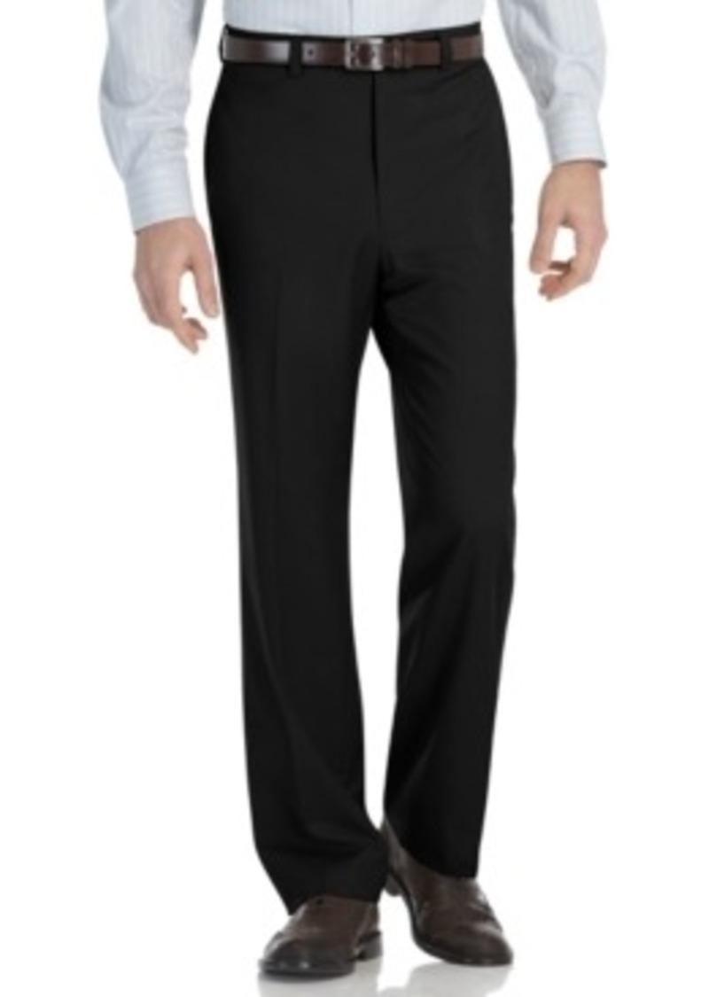 Klein modern fit microfiber dress pants casual pants shop it to me