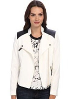 Calvin Klein Moto Jacket w/ Zippers