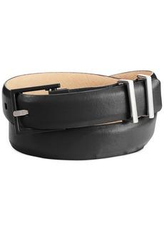 Calvin Klein Multi Metal Keeper Skinny Leather Belt