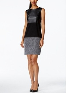 Calvin Klein Multimedia Sheath Dress