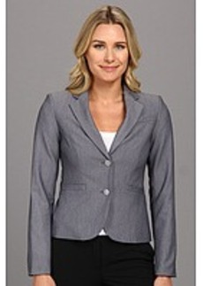 Calvin Klein Novelty Two Button Jacket