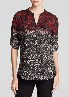 Calvin Klein Ombre Abstract Print Shirt