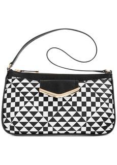 Calvin Klein On My Corner Saffiano Shoulder Bag
