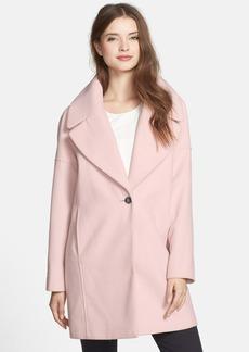 Calvin Klein Oversize Collar Boyfriend Coat