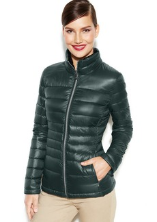 Calvin Klein Packable Quilted Down Puffer Coat