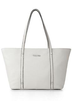 Calvin Klein Pebble Leather Tote