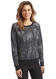 Calvin Klein Performace Printed Sweatshirt