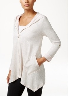 Calvin Klein Performance Asymmetrical-Hem Jacket