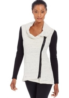 Calvin Klein Performance Asymmetrical Zip-Closure Jacket