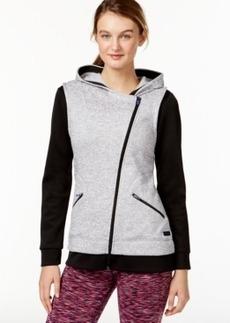 Calvin Klein Performance Asymmetrical Zip Hooded Jacket