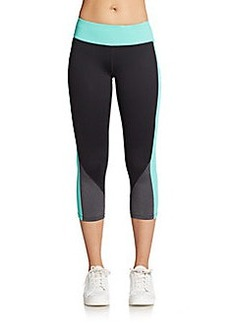 Calvin Klein Performance Colorblock Seamed Performance Leggings