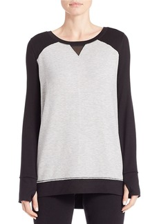 CALVIN KLEIN PERFORMANCE Colorblocked Mesh Tee