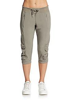 Calvin Klein Performance Cropped Cargo Capri Pants