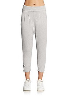 Calvin Klein Performance Cropped Fold-Over Pants