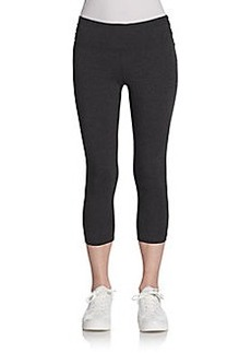 Calvin Klein Performance Cropped Ruched Leggings