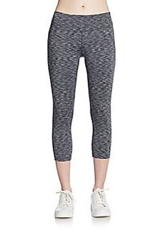 Calvin Klein Performance Cropped Shirred Leggings