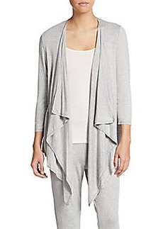 Calvin Klein Performance Draped Asymmetrical Cardigan
