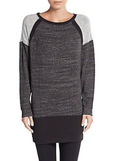Calvin Klein Performance Fabric-Blocked Sweater