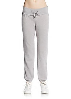Calvin Klein Performance Fold-Over Track Pants