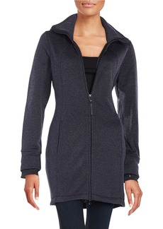 CALVIN KLEIN PERFORMANCE Hooded Walked Jacket