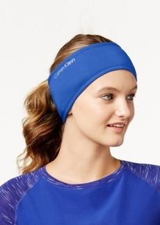 Calvin Klein Performance Jersey Faux Sherpa-Lined Headband