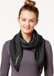 Calvin Klein Performance Jersey Oversized Bias-Cut Scarf