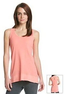 Calvin Klein Performance Keyhole Back High-Low Tank