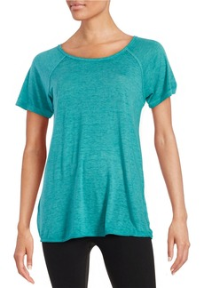 CALVIN KLEIN PERFORMANCE Knit Roundneck Tee