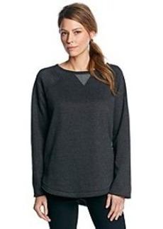 Calvin Klein Performance Long Sleeve Crew Neck Pullover Top