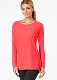 Calvin Klein Performance Long-Sleeve High-Low T-Shirt