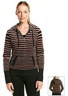 Calvin Klein Performance Long Sleeve Striped Hoodie