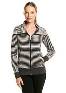 Calvin Klein Performance Long Sleeve Striped Jacket
