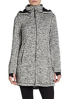 Calvin Klein Performance Marled Hooded Performance Jacket