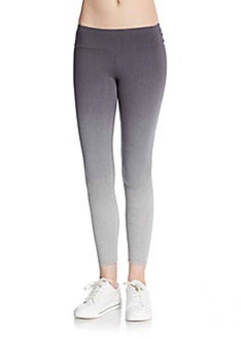 calvin klein calvin klein performance micro striped ombr performance leggings casual pants. Black Bedroom Furniture Sets. Home Design Ideas