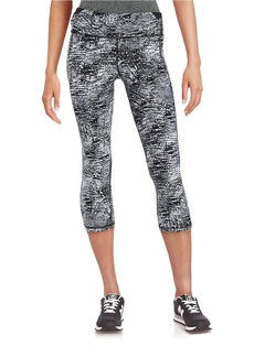 CALVIN KLEIN PERFORMANCE Patterned Active Leggings