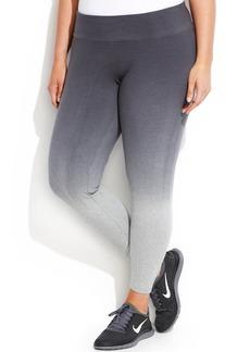 Calvin Klein Performance Plus Size Active Ombre Leggings