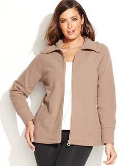 Calvin Klein Performance Plus Size Fleece Jacket