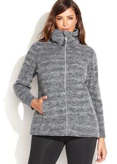 Calvin Klein Performance Plus Size Patterned Fleece Jacket