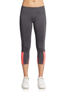Calvin Klein Performance Seamed Cropped Performance Leggings