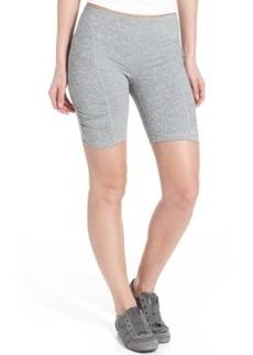 Calvin Klein Performance Shorts, Skinny Ruched Bike Shorts