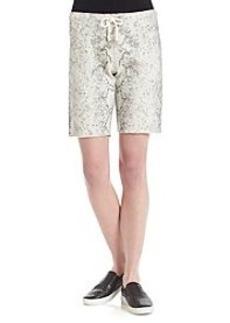 Calvin Klein Performance Slub Drawstring Shorts