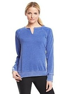 Calvin Klein Performance Splitneck Raglan Sleeve Sweatshirt