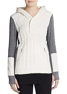 Calvin Klein Performance Sunburst Quilted Performance Hoodie