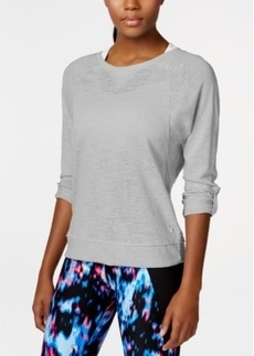 Calvin Klein Performance Three-Quarter Sleeve Top