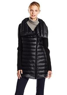 Calvin Klein Performance Women's Asymmetrical Zip Down Filled Coat